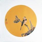 (已售)莫晓菲 国画花鸟画 小尺寸 工笔精品画