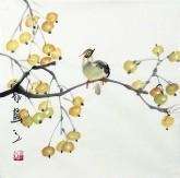 石泉 国画花鸟画小品 小尺寸2-9 小果实