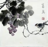 石泉 国画花鸟画小品 小尺寸2-26 小果实