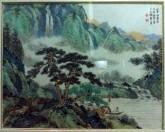 (已售)郭立平(北京美协会员)国画山水画 精品四尺斗方1