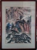 郭立平(北京美协会员)国画山水画 精品小尺寸四尺三开《云来山更佳》