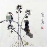 (已售)石泉 国画花鸟画小品 小尺寸斗方3-10