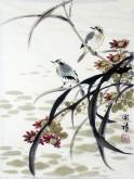 (已售)胡开喜 国画写意花鸟画  小尺寸9