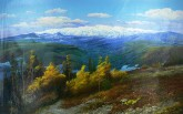 朝鲜油画 金昌烈(1级画家)104*165cm 布面油画 风景7