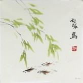 石泉 国画花鸟画小品 小尺寸斗方4-40鱼