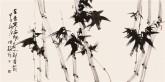 【询价】 肖映梅(中国美协)国画花鸟画 四尺横幅《君子吟之竹》竹子