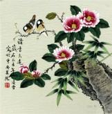 凌雪 三尺斗方 国画写意花鸟画《清香久远》5-43