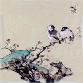 李大庆(中国美协会员)国画花鸟画 精品小尺寸小品3