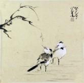 李大庆(中国美协会员)国画花鸟画 精品小尺寸小品6