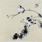 李大庆(中国美协会员)国画花鸟画 精品小尺寸小品4