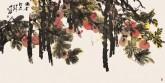 【询价】肖映梅(中国美协)国画花鸟画 大八尺横幅 《渴着所思》