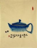 【已售】肖映梅(中国美协)国画花鸟画 小品 茶壶