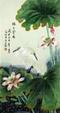 (已售)凌雪 三尺竖幅 国画花鸟画《路路皆通》6-27