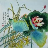 凌雪 四尺斗方 国画花鸟画《清香溢远》8-30