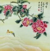 凌雪 四尺斗方 国画花鸟画《清香》8-49