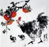 国画鸡|鹰|孔雀-图片|价格|画家 - 1号字画网