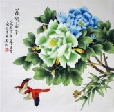 凌雪 国画工笔牡丹 四尺斗方 《花开富贵》18-25