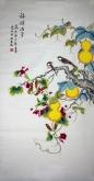 凌雪 四尺竖幅 国画葫芦 《事事如意》3-8